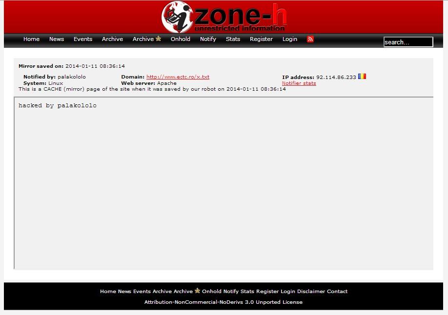 Cora Trade Center hacked