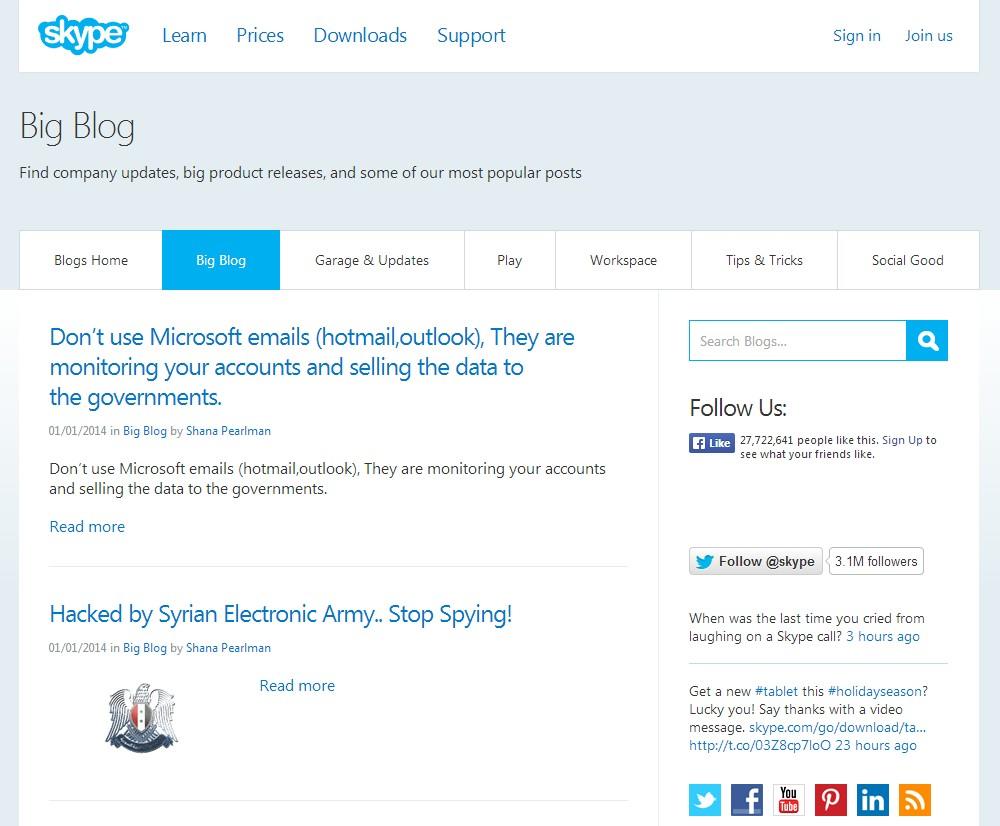 blog skype spart