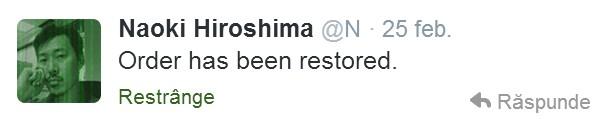 Naoki Hiroshima Twitter