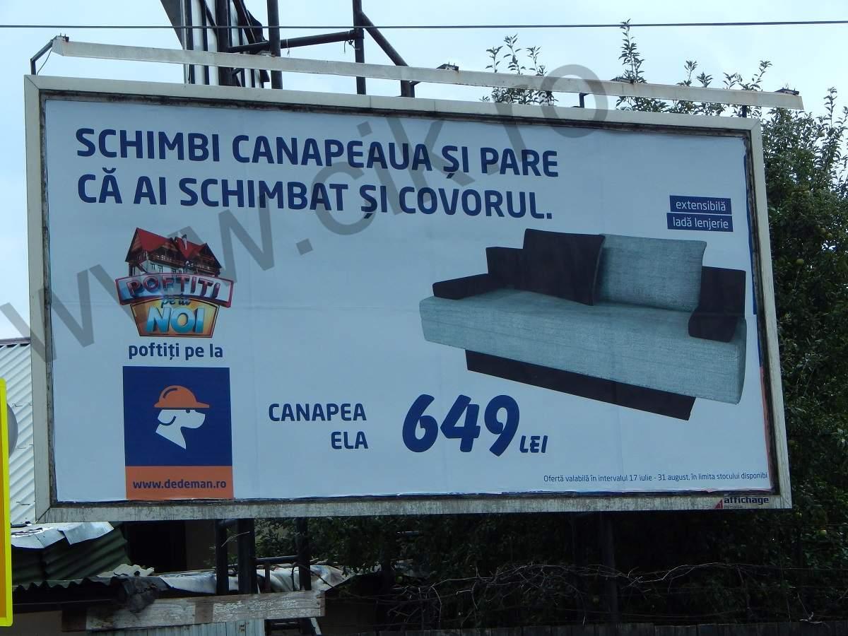 reclame stradale dedeman