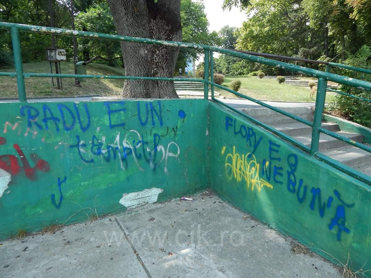 graffiti parc herastrau