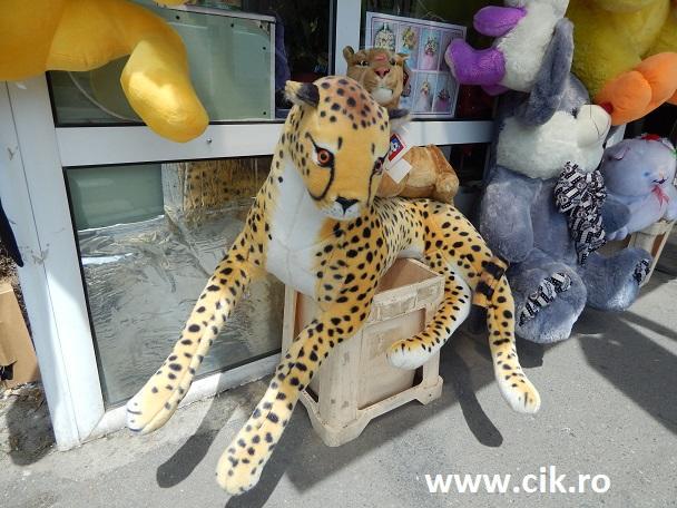 leopard si pui jucarii din plus