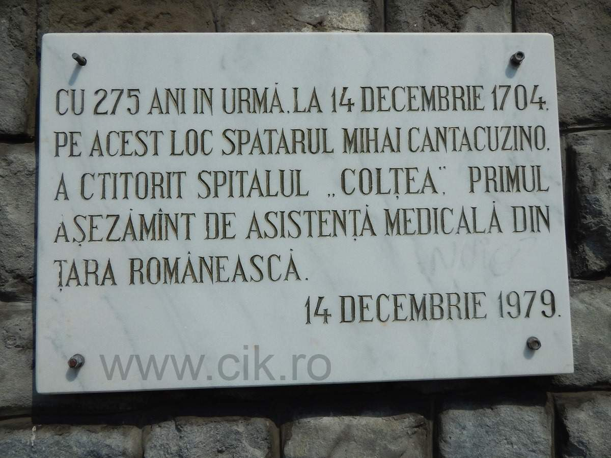 spitalul coltea bucuresti