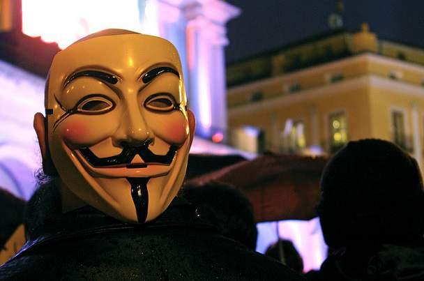 Anonymous masca