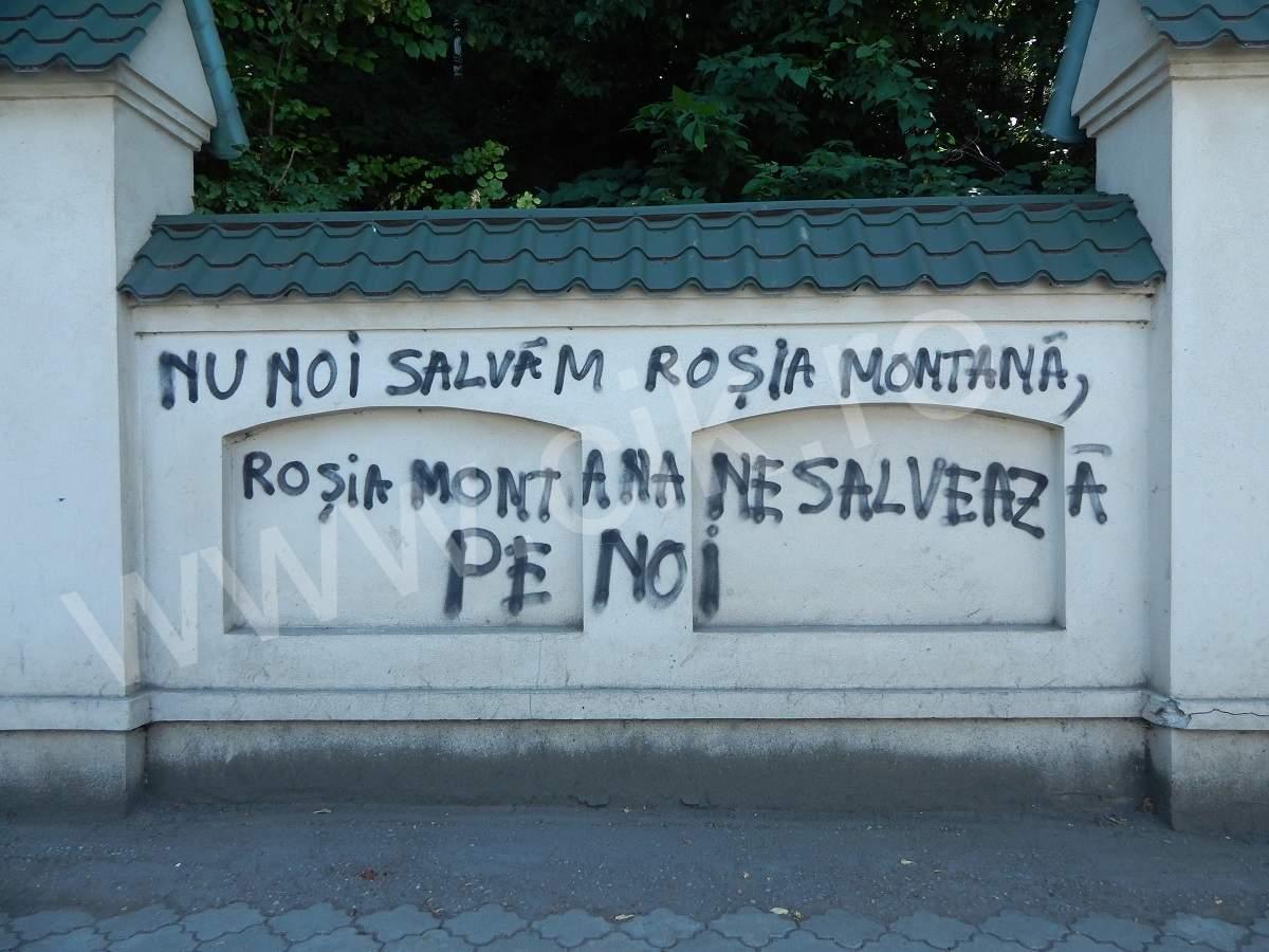 Mesaj Rosia Montana