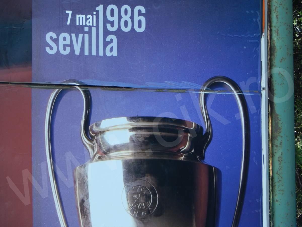 Steaua Cupa Campionilor Sevilia