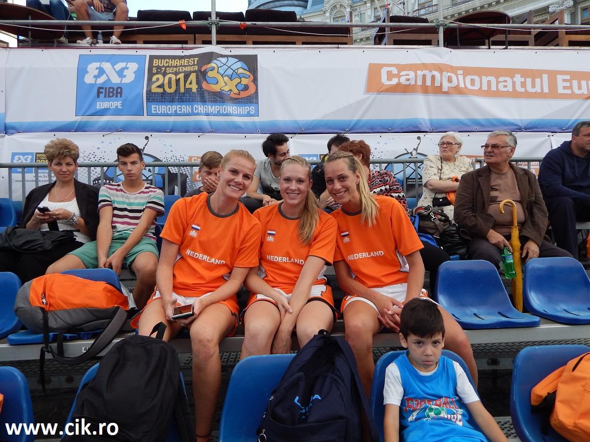 Karin Heinen, Lisa van den Adel, Sarah Mourik 3x3 eurotour
