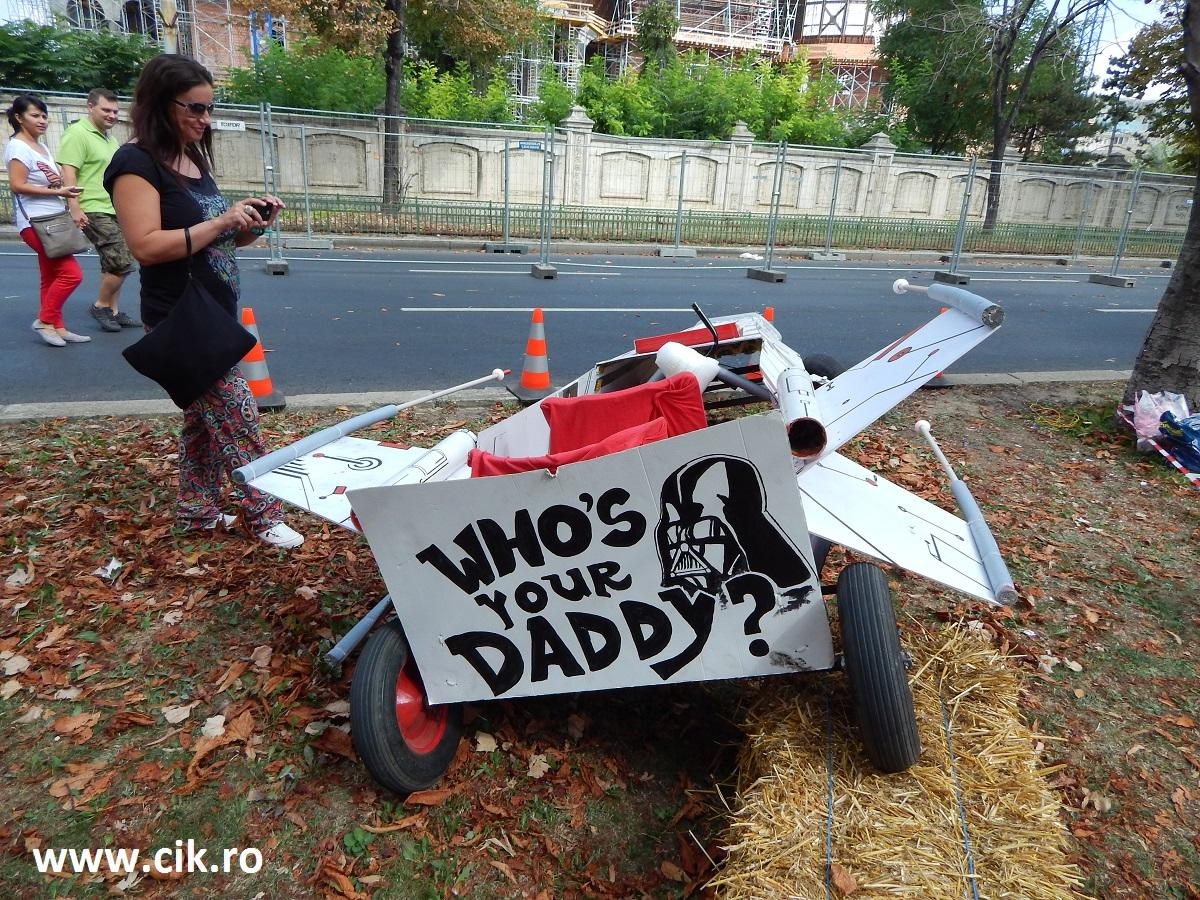 Red Bull Soapbox whos your daddy