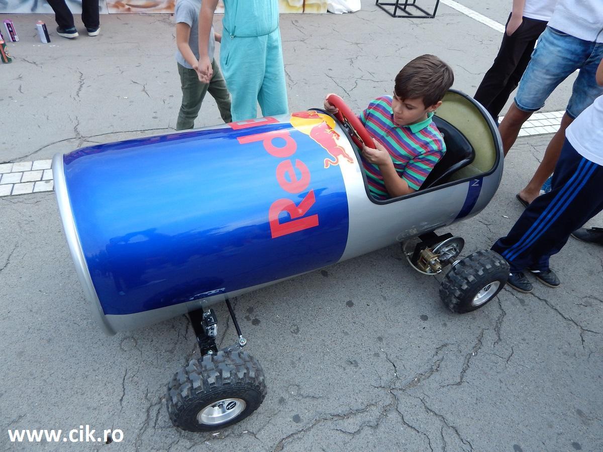 Creative Fest RedBull car