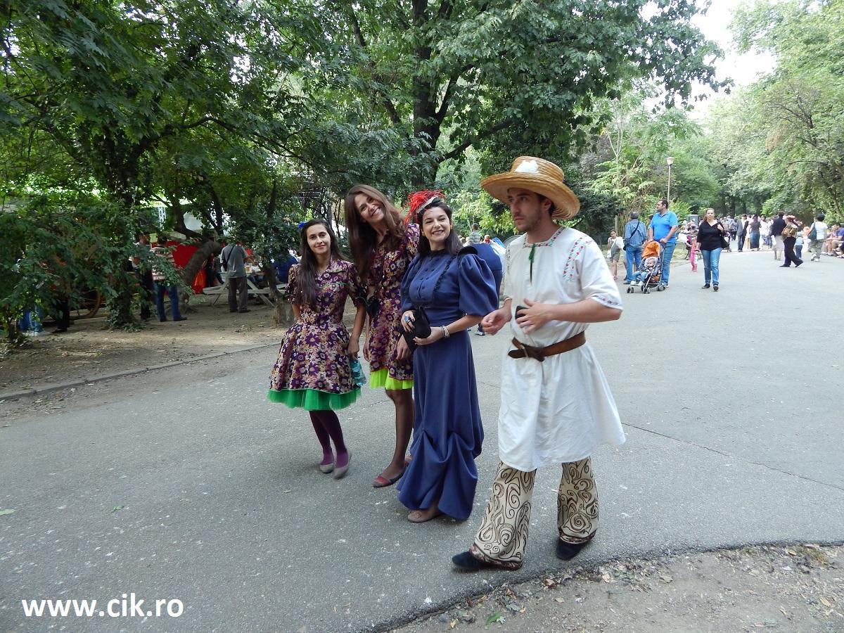 actori zilele bucurestiului parcul cismigiu