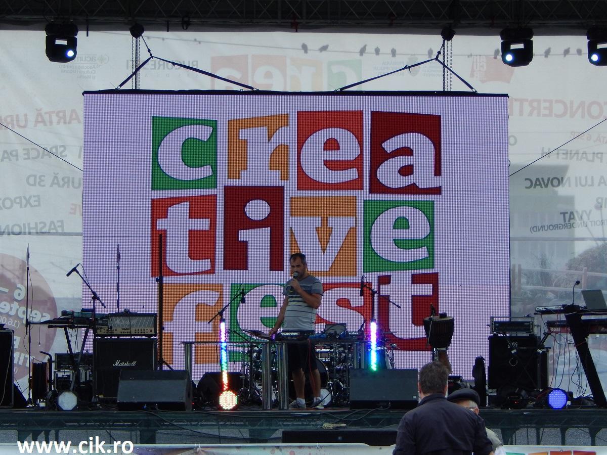 Creative Fest scena