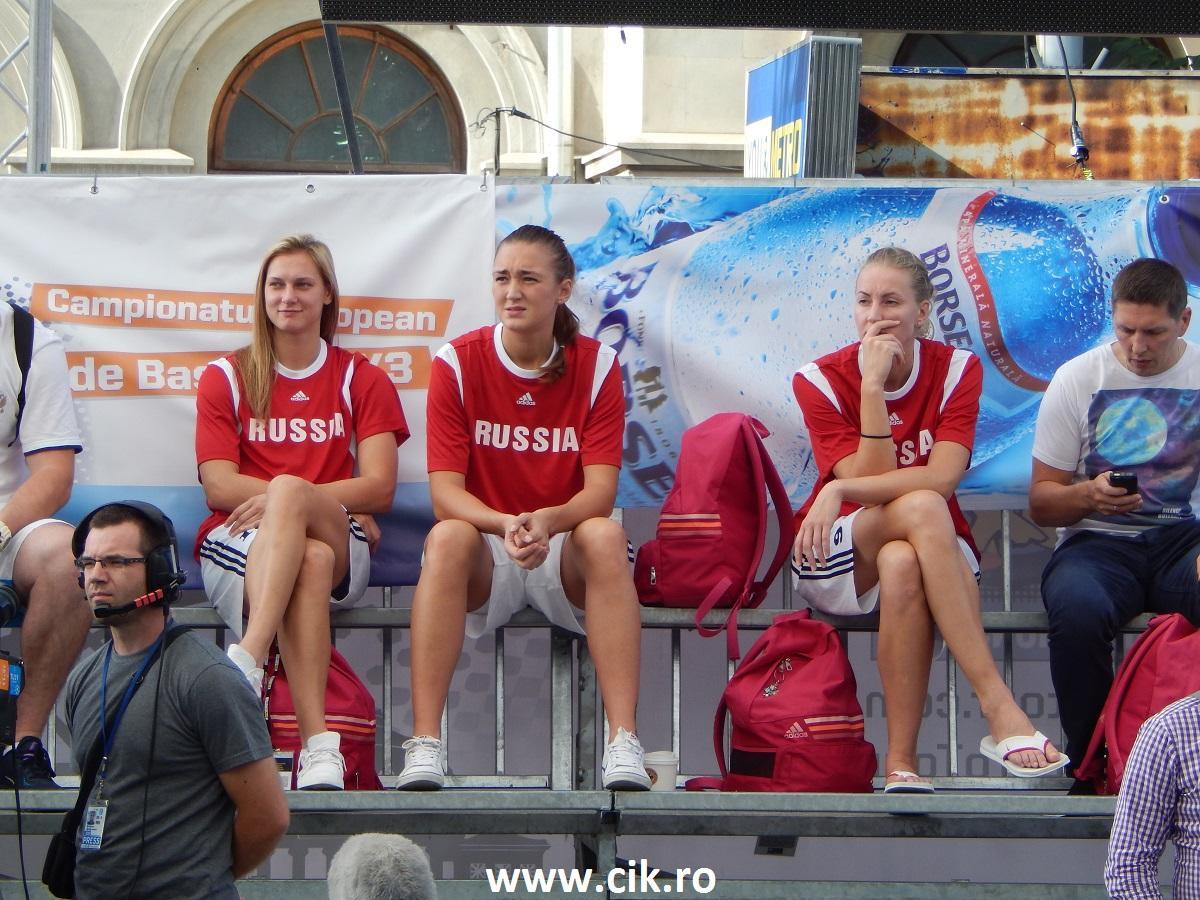 Rusia Basketball team 3x3eurotour