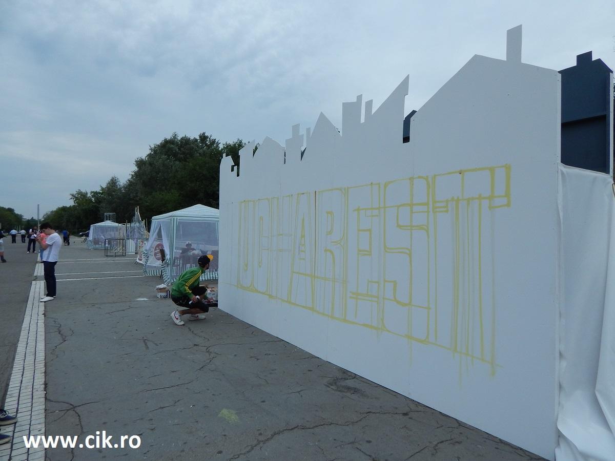 Creative Fest arta urbana inainte