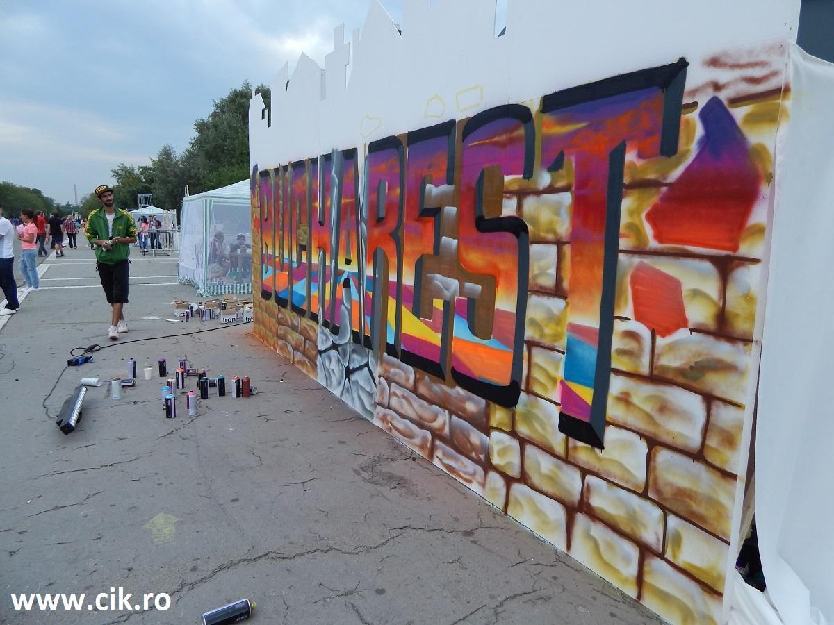Creative Fest arta urbana dupa