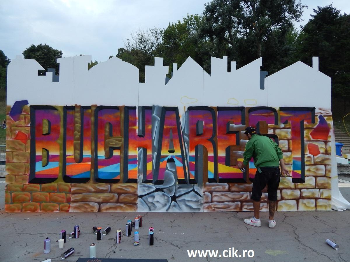 Creative Fest Bucharest paint