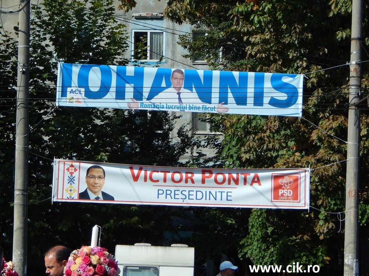 Klaus Iohannis alegeri prezidentiale