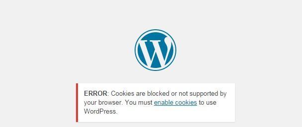 eroare autentificare WordPress