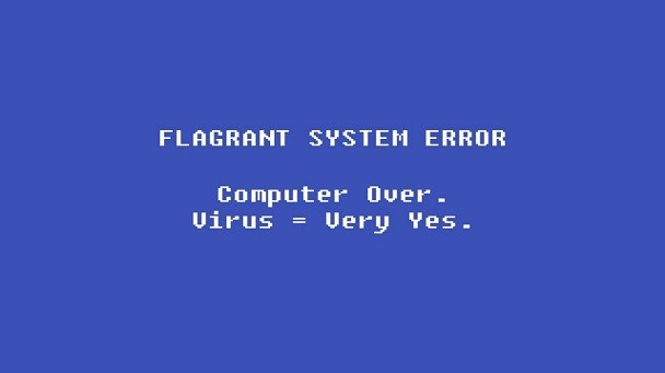 eroare grava de sistem