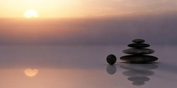 echilibru meditatie