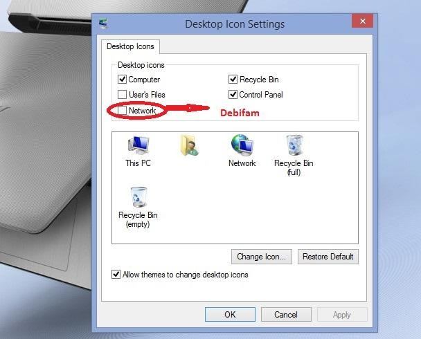 Windows 8 personalise