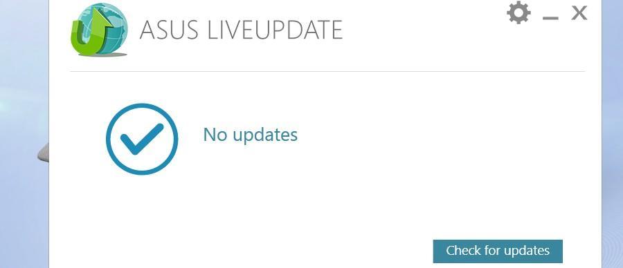 BIOS ASUS Live Update