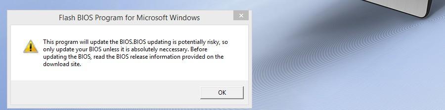 BIOS ASUS WinFlash