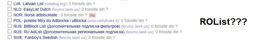 uBlock Origin blocare reclame romania