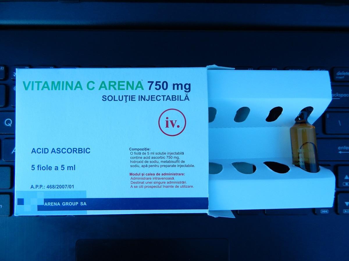 vitamina c injectabila