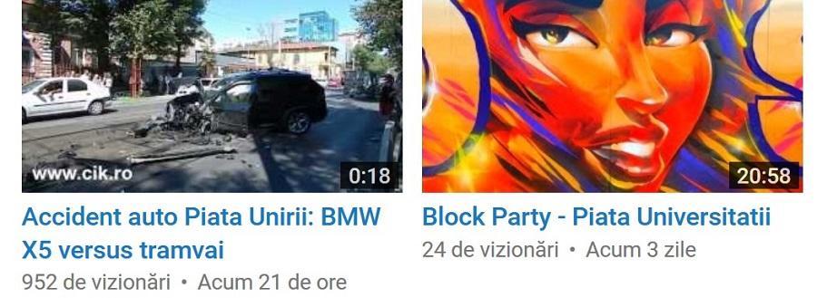 vizualizari youtube