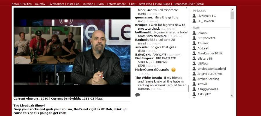 Hayden Hewitt live streaming pe liveleak