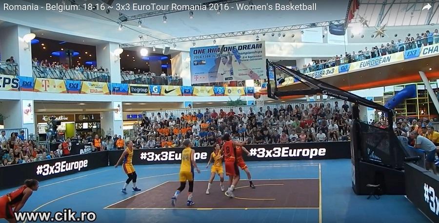 romania fiba 3x3 eurotour 2016 fete baschet