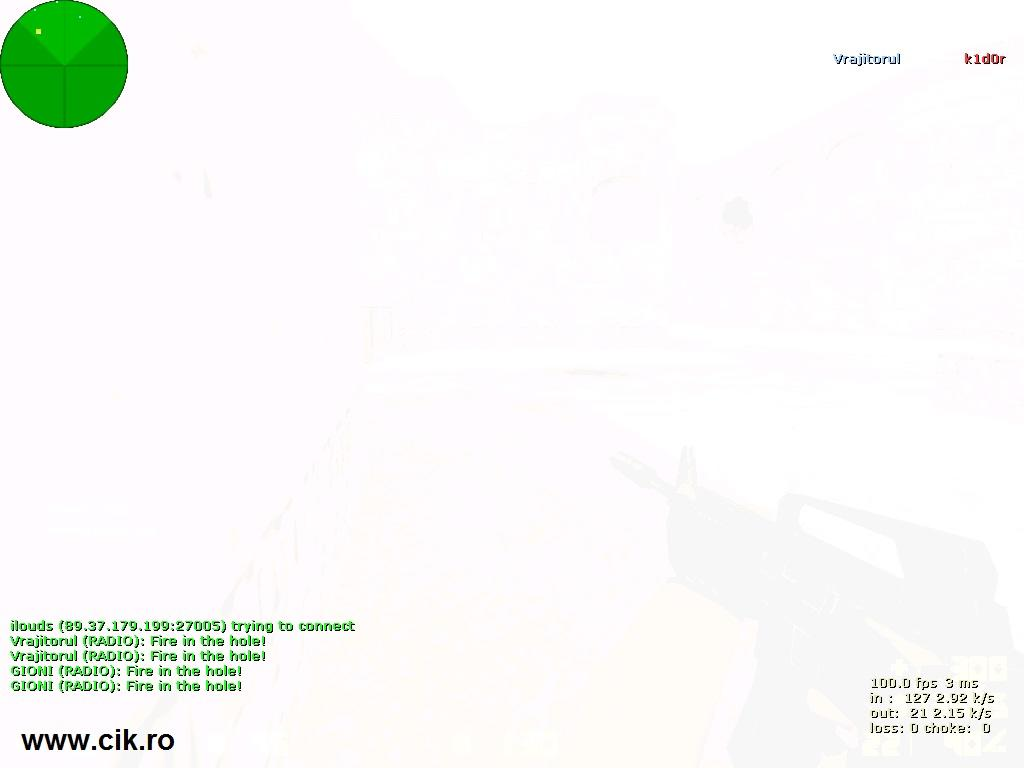 12 l-am omorat pe k1d0r din teg prin flash pe serverul de counter strike al lui r0xi