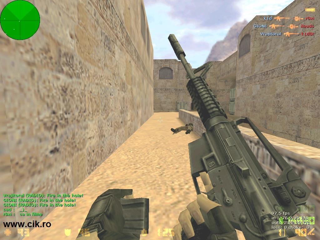 14 l-am omorat pe k1d0r din teg pe serverul de counter strike al lui r0xi