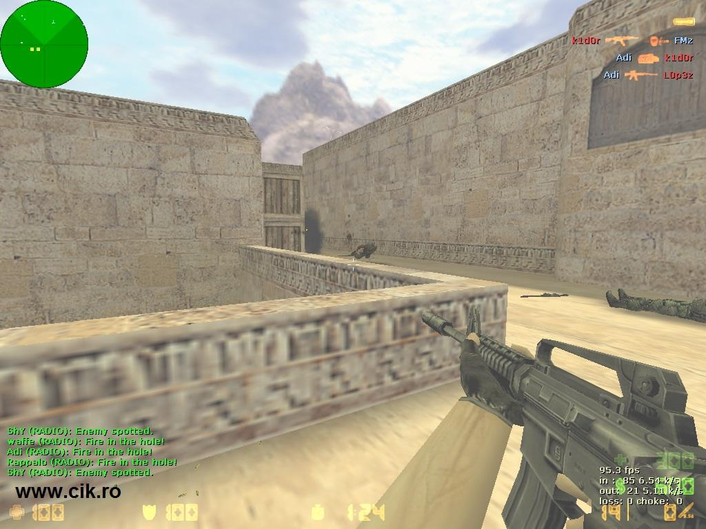 16 l-am omorat pe k1d0r din teg pe serverul de counter strike al teg