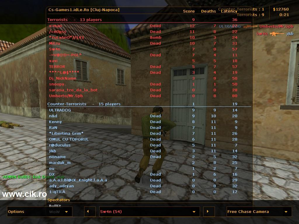 20 eu pe cs games1 idle ro server counter strike 1.6