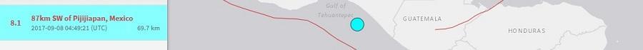 cutremur mare 8 grade mexic
