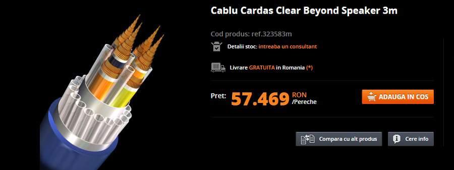 cel mai scump cablu audio