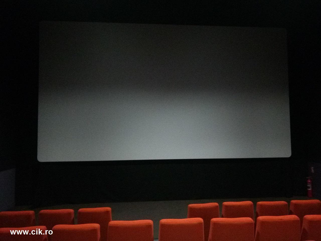 cum arata ecranul din sala trei happy cinema