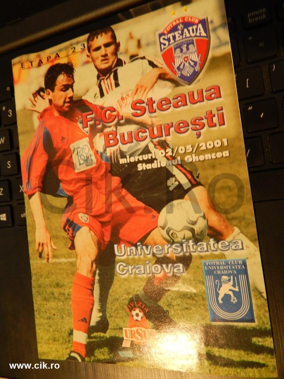 revista steaua universitatea craiova 2001