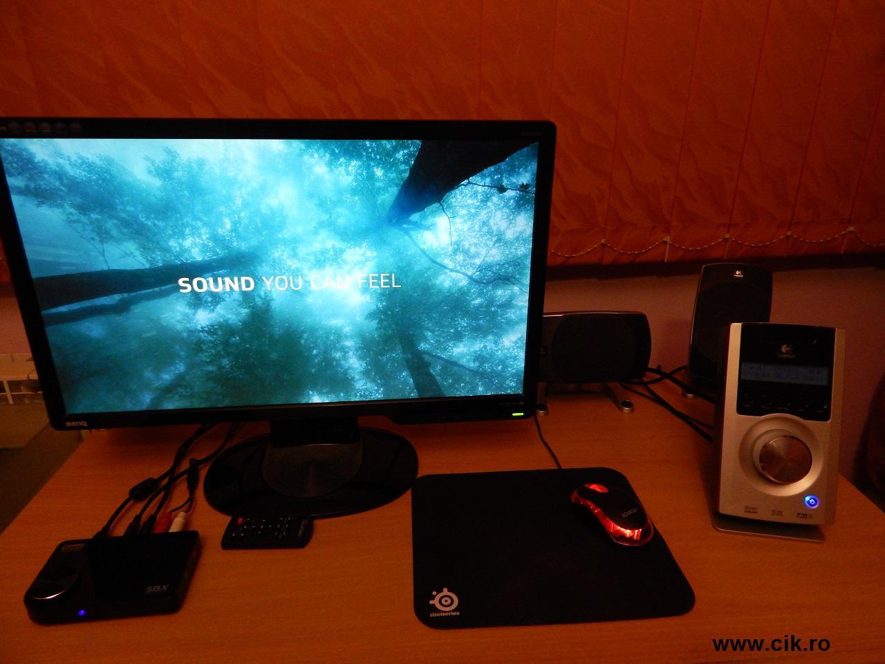 Sound Blaster X-Fi Surround 5.1 Pro USB este o placa de sunet slaba